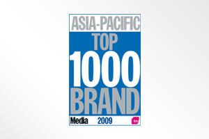 Asia Pacific's Top 1000 Brands One of the Top 100 brands