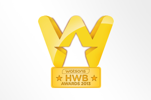 Taiwan: Watsons Health, Wellness and Beauty Award - Category Outstanding Performance